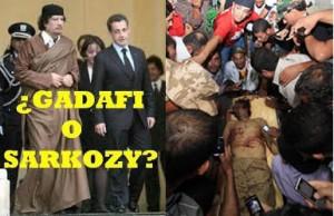Gadafi vs. Sarkozi