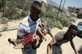 Mientras que lleguen a sus objetivos, los civiles pagan el precio grande. Hemos tenido 18 víctimas hasta el momento y la cifra va en aumento.