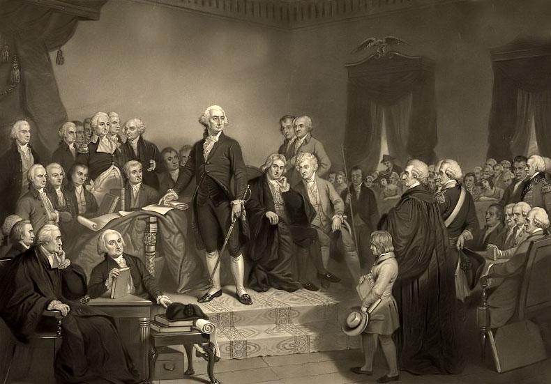 """Los Estados Unidos nacieron de un entrelazamiento profundo en los asuntos internacionales, extrayendo su independencia a través de la explotación astuta de los fundadores de las tensiones entre Gran Bretaña y Francia. Muchas personas observan la advertencia de Thomas Jefferson de que Estados Unidos debe perseguir """"la paz, el comercio, y amistad honesta con todas las naciones - enredar alianzas con ninguno"""", teniendo que a medida que la estrategia de definición de los fundadores. Creo que es mejor decir que era el deseo de definir de los fundadores, pero no uno que practicaban a los extremos."""