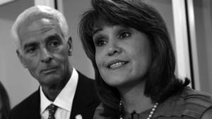 Charlie Christ y Annette Taddeo