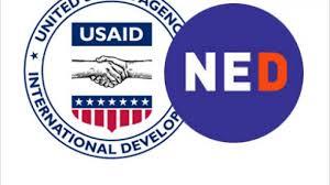 Lo que no te de mi padre (USAID), te lo ofrezco yo (NED): ¡Hay dulces para todos!