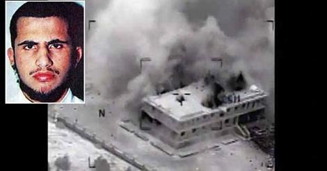 Muhsin Al Fadhli y el lugar donde fue bombardeado