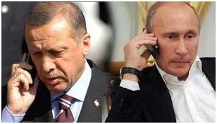 """Putin dijo a Erdogan que debía abstenerse de interferirse en los asuntos internos de Siria y detener sus acciones dirigidas a derrocar al presidente Bashar al Assad. La respuesta de Erdogan fue que Siria representaba """"¡un asunto interno para Turquía!"""" y acusó al Ejército sirio de """"cometer crímenes""""."""