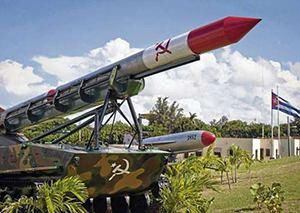 Los misiles rusos en Cuba.