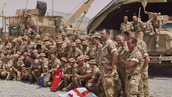 Las tropas evacuadas esta semana de Helmand, fueron la última parte de la fuerza de la OTAN liderada por Estados Unidos que ha ocupado Afganistán durante los últimos 13 años. Foto: soldados estadounidenses en la base militar británica de Camp Bastion, sur de Afganistán.