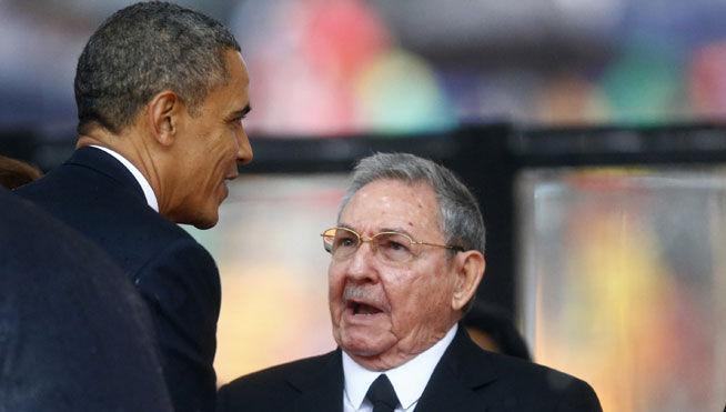 En un hecho histórico sin precedentes luego de mas cincuenta y seis años de confrontaciones diplomáticas, ideológicas, económicas y paramilitares por parte de diferentes administraciones estadounidenses tratando de derrotar a Castro y su gobierno, luego de mas de año y medio de negociaciones secretas, finalmente los dignatarios de la República de Cuba y de los Estados Unidos de Norteamérica decidieron, el el 17 de diciembre del 2014 , poner fin a los remanentes que aun quedaban de la Guerra Fría restableciendo sus relaciones diplomáticas Barack H. Obama, presidente de los EE.UU. reconociendo que la política de confrontación con La >Habana había sido un fracaso decidió darle un nuevo cambio táctico-estratégico de realpolitik. acorde a los tiempos