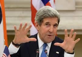 """En lo que se refiere a Venezuela, John Kerry sabe de que lado de la guerra de clases está. La semana pasada, justo cuando me iba, el Secretario de Estado de Estados Unidos duplicó su descarga de retórica contra el gobierno, acusando al presidente Nicolás Maduro de fomentar una """"campaña de terror contra su propio pueblo"""". Kerry también amenazó con invocar la Carta Democrática Interamericana de la OEA contra Venezuela, así como de aplicar sanciones."""