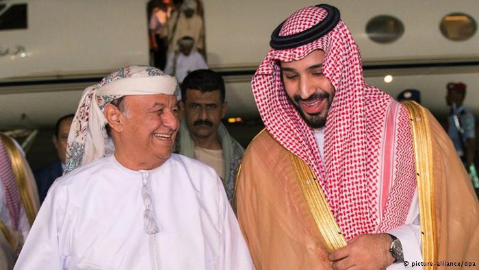 La inestabilidad en Yemen está causada no por Irán o los huthis, sino por los Estados Unidos y la interferencia saudí en Yemen - a partir de 2009 la invasión de Arabia Saudita a los ataques con aviones no tripulados de Estados Unidos - y las décadas del apoyo que Arabia Saudita ha previsto para un régimen autoritario y poco popular en Yemen. Abdi Rabu Mansur Hadi, presidente de Yemen, llegó hoy (26.03.2015) a Riad, donde fue recibido por el ministro saudí de Defensa.