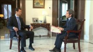 En una entrevista concedida al canal de la televisión pública francesa France2 y que se transmitirá el 20 de abril de 2015 a las 20 horas, el presidente sirio Bachar al-Assad menciona las relaciones secretas que mantienen actualmente su país, la República Árabe Siria, y Francia.