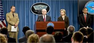 La Revisión de la Postura Nuclear es una revisión mandato legislativo-Estados Unidos establece que la política nuclear, la estrategia, las capacidades y la postura de fuerza para los próximos cinco a diez años.