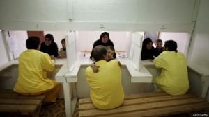 En Camp Bucca los detenidos tenían derecho a visitas familiares, entre otros.