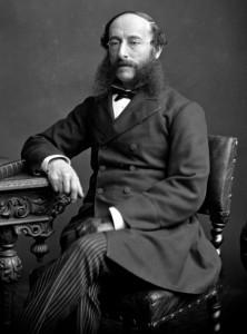 Nasir al-Din Shah, Shah de Irán 1848-1896, vendió Barón Julius de Reuter el derecho a explotar la totalidad de ferrocarriles y canales de Irán, la mayoría de las minas, todos los bosques del gobierno y todos los sectores de futuro.