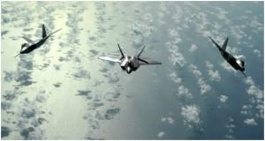 EE.UU. también está considerando la posibilidad de desplegar en Europa aviones caza de quinta generación F-22 Raptor.