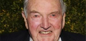 """David Rockefeller """"Algunos incluso creen que somos parte de una cábala secreta que trabaja contra los mejores intereses de los Estados Unidos; calificando a mi familia ya mí mismo como 'internacionalistas' y acusándonos de conspirar con otros alrededor del mundo para construir una estructura política y económica global más integrada en un mundo unficado. Si ese es el cargo, me declaro culpable y estoy orgulloso de ello"""""""