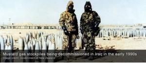 La agencia de inteligencia exterior de Alemania —Servicio Federal de Inteligencia (en alemán, Bundesnachrichtendienst, abreviado BND)— dice que tiene pruebas de que el Estado Islámico está haciendo uso de armas químicas en el norte de Irak, según informes de prensa.
