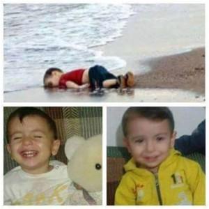 La prensa internacional muestra la foto del niñito sirio ahogado para... Para hacer llorar a las mayorías ignorantes e indiferentes... Pero omite explicar claramente que ese niño murió  HUYENDO DE LA MASACRE TERRORISTA en Siria desatada por EEUU y las potencias de la OTAN. Los verdaderos culpables se esconden tras nuestras lágrimas, cuando nuestra vista es borrosa y nos impide ver con claridad QUIÉNES son los que han provocado desde hace cuatro largos años un desastre humanitario con millones de refugiados y cientos de miles de víctimas. Sí, los DUEÑOS de la prensa internacional lo esconden tras la imagen triste de los muertos en las orillas y los desplazados por los caminos de Europa, como esconden sistemáticamente los miles de cadáveres de niños DESPEDAZADOS por los BOMBARDEOS de EEUU-OTAN-ISRAEL en Medio Oriente, África y Asia.