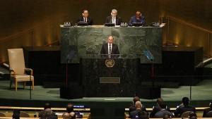 """El discurso de Putin en la ONU de hace unos días parece haber sido la señal (y que al parecer no fue captada por el Pentágono, tal vez porque estaba redactada en un lenguaje claro y honesto) de que Rusia estaba a punto de """"ponerse seria"""" y hacer valer su intención de evitar el derrocamiento de Assad, defender a la población civil de Siria contra el EI y resolver la """"crisis de los refugiados"""" europea en el proceso."""
