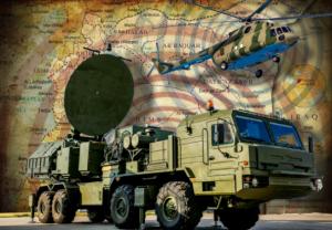 """Y es que esta evidente superioridad rusa, provocará que los altos funcionarios del complejo industrial militar presionen a los responsables políticos para que gasten mucho más dinero para crear """"mejor"""" tecnología para """"defender a los EEUU de amenazas externas"""". Foto: El Sistema  Richag-AV"""