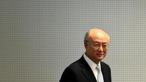 El director general de la Agencia Internacional de Energía Atómica (AIEA), Yukiya Amano.