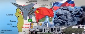 Fuentes militares y de inteligencia de Debkafile informan que China envió un mensaje a Moscú este Viernes 2 de octubre, de que bombarderos J-15 de combate se unirán dentro de poco a la campaña aérea de Rusia, que fue lanzada este Miércoles 30 de septiembre. Bagdad ha ofrecido además a Moscú una base aérea para lanzar su ofensiva contra el Estado Islámico, que ahora está ocupando grandes extensiones de territorio iraquí.