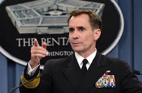 """""""Si no te adaptas la manera de ejecutar y poner en práctica su estrategia, entonces. . . a menos que pueda ver el futuro con perfecta claridad, que se está preparando para el fracaso """", dijo el portavoz del Departamento de Estado, John Kirby, un almirante retirado que sirvió previamente como portavoz del Departamento de Defensa. En este caso, dijo Kirby, la creación de las fuerzas sirias indígenas capaces en campamentos fuera de Siria fue más difícil de lo esperado."""