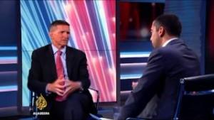 Antes de pasar al análisis de las declaraciones del general Flynn, citamos aquí varios fragmentos claves de la entrevista que concedió el pasado 4 de agosto: