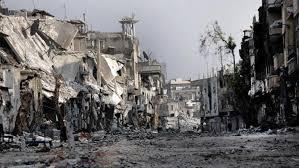 """""""Las réplicas del bombardeo de Alepo se harán sentir por todas partes.Si hay una cosa que los europeos han aprendido en el año 2015, es que no pueden ser protegidos de los efectos del conflicto en Oriente Medio '.Fotografía: Thaer Mohammed / AFP / Getty Images"""