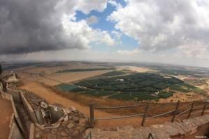 el Golán es una zona de importancia turística en Israel, gracias a la estación de esquí del Monte Hermon.