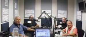 """""""AL CALOR DE LA NOCHE"""" A TRAVÉS DE ACTUALIDAD RADIO 1020-1040AM (WWW.PROFEMORALES.COM) TODOS LOS DOMINGOS DE 00:00 A 06:30 HRS. CONDUCIDO POR EL PROFE RODOLFO MORALES Y SU EQUIPO DE TRABAJO INTEGRADO POR CALIFICADO EXPERTOS PROFESIONALES EN SUS RESPECTIVOS CAMPOS: EL DR. JOSÉ R ALFONSO (FRENTE A MORALES) DESARROLLA ANÁLISIS DE SEÑALES DE INTELIGENCIA PUBLICA REFERENTE A ACONTECIMIENTOS GEOPOLÍTICOS Y GEOESTRATÉGICOS EN PLENO DESARROLLO OBTENIDOS A TRAVÉS DE LOS MISMOS PROTOCOLOS OPERATIVOS DEL TRABAJO DE LOS SERVICIOS ESPECIALES DEL MUNDO POR EL ACRÓNIMO DE OSINT (WWW.CODIGOABIERTO360.COM): ORLANDO CHIRINO (AL FONDO A LA DERECHA) RECONOCIDO Y REFERENCIADO EN LA RED, ASTRÓNOMO Y PROFESOR DE PSICÓLOGIA CLÍNICA DE LA UNIVERSIDAD KEISEL, FLORIDA; Y HENRY AVELLO (FONDO A LA IZQUIERDA) DESTACADO HISTORIADOR, MÍSTICO Y POETA. BAJO LA COORDINACIÓNY DIRECCIÓN DE LA PERIODISTA Y LOCUTORA GENNY DE BERNARDO. (PARA ECUCHAR HAGA CLICK SOBRE LA FOTO)"""