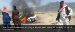 """Codigoabierto360. Fuentes de inteligencia de Fuente Publica daban señales acerca que el mulá Akhtar Mohammad Mansoor  representaba un """"obstáculo"""" en las conversaciones """"secretas"""" entre los talibanes y los E.UU.  Y los estados neutralizan los obstáculos qu se oponen  a sus intereses."""