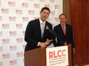 Rep. Paul Ryan (R-Wisc.) Encabezó el evento RSLC, expresando la importancia de los recursos a los esfuerzos republicanos.