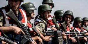 Soldados turcos en Irak