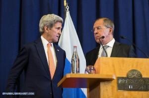A esta conclusión llegaron John Kerry el Secretario de Estado,  y Sergei Lavrov, el canciller ruso, en Ginebra el 12 de septiembre.