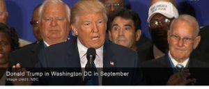 Miembros de la Comunidad de Inteligencia de los Estados Unidos pronto comenzarán a compartir información secreta con el equipo de transición de la Casa Blanca del presidente electo Donald Trump.