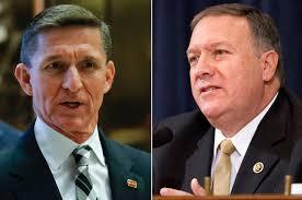 Ahora volvamos al asesor de Seguridad Nacional, el anti-Hermandad Musulmana Mike Flynn. Flynn, junto con el nombrado director de la CIA, Mike Pompeo, está de acuerdo en que el acuerdo nuclear de Obama con Irán debe ser desechado y llama a Irán un Estado patrocinador del terrorismo, una posición muy querida en el corazón de Netanyahu.