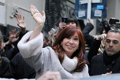 La resurrección de Cristina Fernández de Kirchner.
