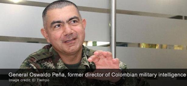 El jefe de espionaje colombiano renuncia por dossier falso que vincula a grupos armados con Venezuela