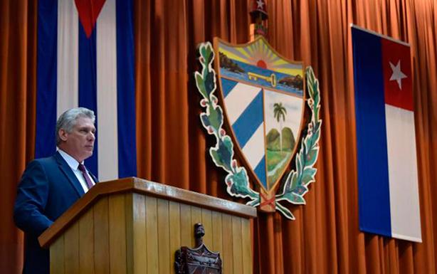 CUBA: Ratificado Miguel Díaz-Canel como Presidente de la República de Cuba. Una consigna política controversial.