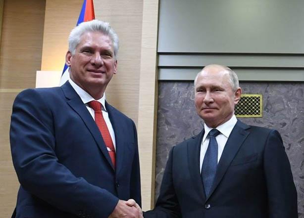 Putin visitará Cuba y Díaz-Canel confirma nuevo viaje a Moscú en 2020