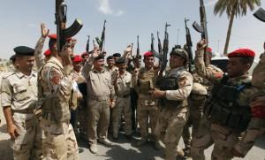 El gobierno de Irán desplegó varios batallones de soldados de élite dentro de Iraq para luchar contra militantes afiliados a al Qaeda que recientemente tomaron varias ciudades de dicho país