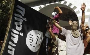 Aunque hay una serie de milicias islamistas que operan en o alrededor de Benghasi, las dos más poderosos y bien organizados son el 17 de febrero Brigada de los Mártires y Ansar al-Sharia . Mientras que ambas organizaciones son nominalmente independientes cada una se ha expresado hacia el exterior, en una afiliación directa o indirecta, con la marca de terror conocida como Al Qaeda.