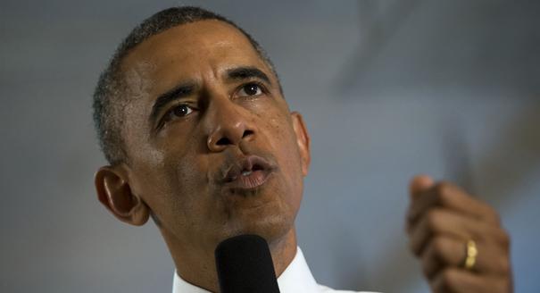 El índice de aprobación del presidente Barack Obama es mayor entre los musulmanes que cualquier otro grupo religioso, según un nuevo sondeo. Foto: AP