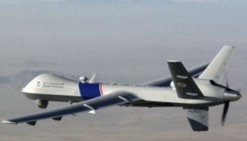 """""""el """"Predator"""", un avión no tripulado que constituye la joya de la inteligencia satelital de los Estados Unidos,"""