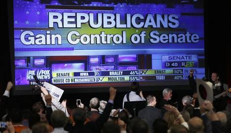 Consiguen arrebatar a los demócratas los seis escaños necesarios para recuperar el control de la Cámara, garantizando su dominio sobre el Congreso durante los dos últimos años de Presidencia de Barack Obama