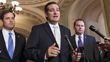 Se siente frustrado, además, ante el falso conservadurismo en que se arropan algunos, sin duda, brillantes teóricos y oradores del Partido del Té (Té Party) —como los Senadores de padres cubanos Marcos Rubio (que siempre hace lo que necesite y tenga que hacer para ganar aunque no sea lo correcto) –además de ser el niño prodigo de la derecha a cubanoamericana del Sur de la Florida- y Ted Cruz (un narcisista recalcitrante ultraderechista y uno de los ideólogos del Te Party)— para que desde sus posiciones electas conspiren en la eliminación de las conquistas sociales (Medicare, Seguro Social y otras) acompañadas de profundos resentimientos antisemitas, antihispanas y  antinmigrantes.
