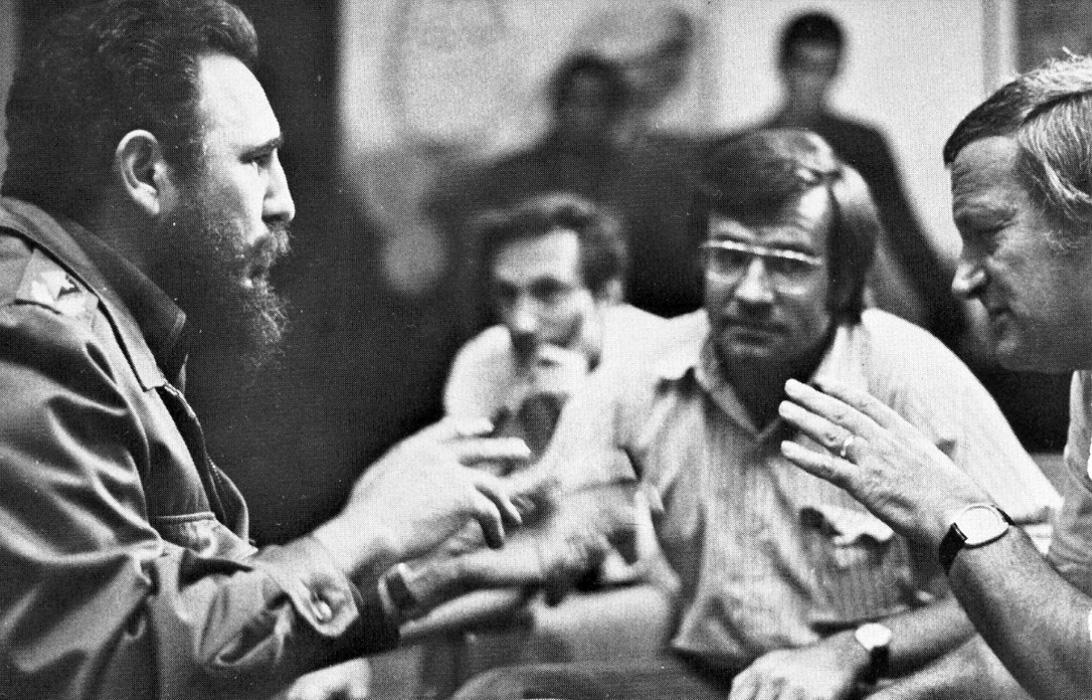 FRANK MANKIEWICZ: fue el intermediario SECRETO para Cuba llevaba los mensajes de Kissinger a Castro