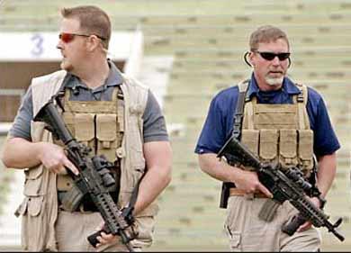 Las compañías militares privadas son empresas dedicadas al ámbito de la seguridad y la defensa, cuyo grado de especialización en un servicio es muy alto y normalmente trabajan con estados u organizaciones internacionales en todo tipo de conflictos y escenarios,