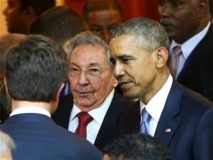 """Castro afirmó además que Obama no es el culpable de la crisis con su país, sino que los responsables eran los anteriores """"10 presidentes"""" de Estados Unidos. """"Obama es un hombre honesto"""" manifestó en su discurso."""