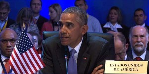 """El Presidente de Estados Unidos dijo que acercamiento con Cuba es """"punto de inflexión"""" para la región y sostuvo que su país """"no será prisionero del pasado"""" con Cuba ni con la región, al mostrarse convencido de que si continúa el diálogo bilateral entre su Gobierno y el de Raúl Castro habrá progresos pese a las """"diferencias"""". """"Estados Unidos mira hacia el futuro"""", subrayó Obama """"Nunca antes las relaciones con América Latina"""" fueron tan buenas, dijo Obama durante el foro"""