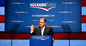 Huckabee Announces His Intentions For The 2016 Presidential Race